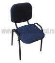 Stolica-za-cekaonicu-M-119-crna
