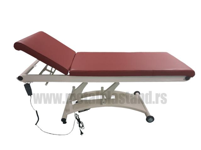 Električni sto za pregled i fizikalnu terapiju M 90 - najčešće korišćena visina za preglede